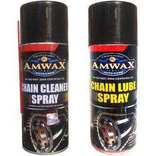 Amwax Chain Lube 150 ml + Chain C leaner 150 ml