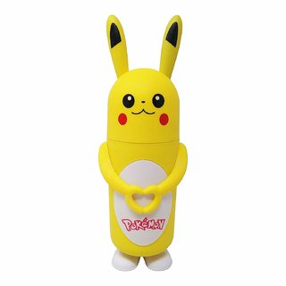 pokemon Glass Cartoon Character Shape Bottle 350 ml - Water, Milk, Juice and Liquid - for Kids - BPA Free (Pokemon)