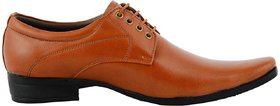 Classic Style Formal Shoes For Men, Tan