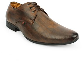Classic Style Formal Shoes For Men, Brown