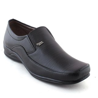 Classic Style Formal Shoes For Men, Black