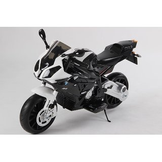Wtoy BMW Licensed Battery Operated Bike for Kids (Ideal for 3 to 7 Yrs) - JT 528 Black
