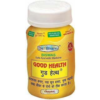 Doctor Biswas Good Health - 50 Caps