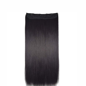 GaDinStylo 26-Inch 5 Clip Based Synthetic Fashion Hair Extension / Hair Wig / BlackHair Accessories