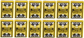 Copag Texas Hold'Em Plastic Poker Playing Cards for Poker games / party - Pack of 12
