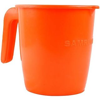 Hi Quality Plastic Mug Set Of 4pc From Baathroom Used 1 Liter Set Of 4pc .