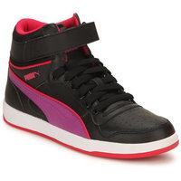 Puma Puma Liza Mid Jr black-purple Casual Boots (35907105)