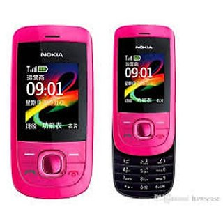 Nokia 2220 Mobile Pink Colour With Fm 2.0Mp Camera 1 Year WarrantyBazaar Warranty