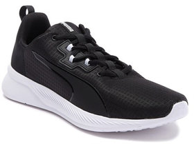Puma Tishatsu Runner Black Sports Shoes