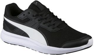Puma Unisexs Escaper Mesh Black White Running Shoes