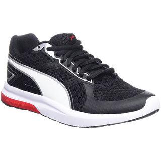 Puma Mens Escaper Tech Black Sports Running Shoes