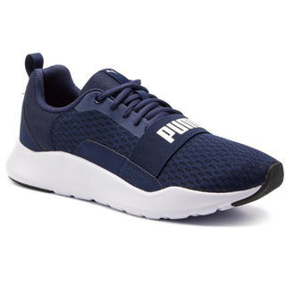 Puma Wired Peacoat Sports Running Shoe