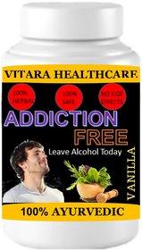 Vitara Healthcare Addiction Free Vanilla Flavor Free From Addiction 100 gm Powder (Pack Of 1)