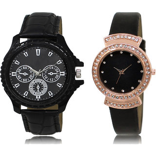 ADK AD-04-LK-244 Black Dial Designer Watches for  Couple