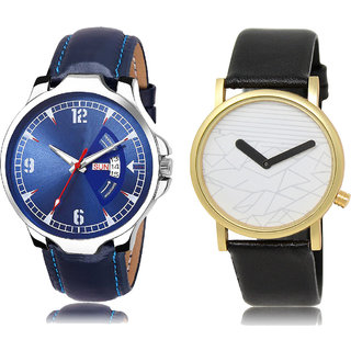 ADK JG-03-LK-37 Blue & White Dial DAY & DATE Functioning Watches for  Men