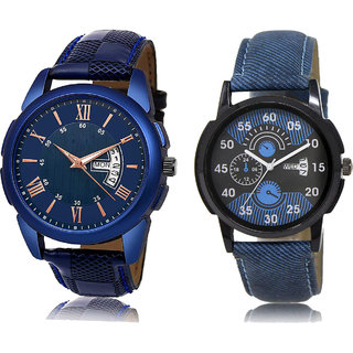 ADK JG-01-DD-02 Blue Dial DAY & DATE Functioning Watches for  Men