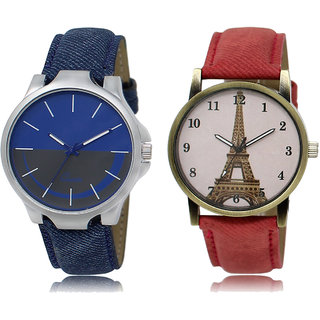 ADK LK-24-230 Blue & Multicolor Dial New  Watches for  Couple