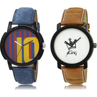 ADK LK-10-18 Multicolor & White Dial Special Watches for  Men
