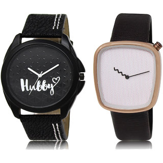 ADK LK-31-41 Black & White & Pink Dial Look Watches for  Men