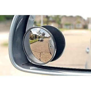 Blind Spot Mirror ROUND Wide Side View Car Rear View Mirror