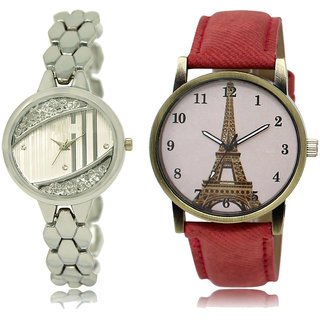 ADK LK-223-230 Silver & Multicolor Dial New  Watches for  Girls