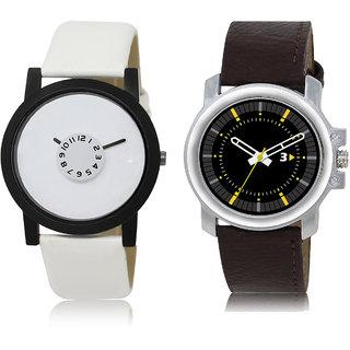 ADK LK-26-44 White & Black & Grey Dial Best Watches for  Men
