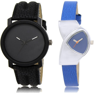 ADK LK-21-208 Black & Blue Dial New Arrival Watches for  Couple