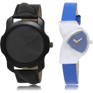 ADK LK-22-208 Black & Blue Dial Best Watches for  Couple