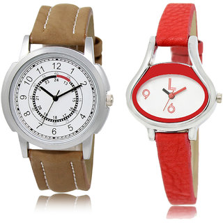 ADK LK-17-206 White Dial Best Watches for  Couple