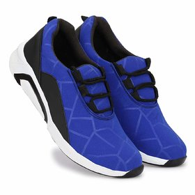 Mr Cobbler Men SKY BLUE Light Weighted Sport Shoes
