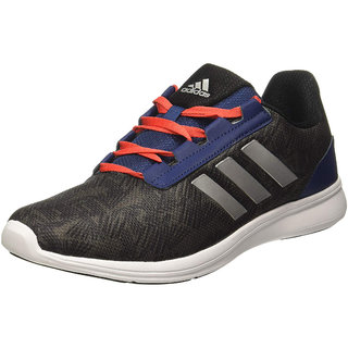 Adidas Mens Black Adi Pacer Elite 2 Running Shoe