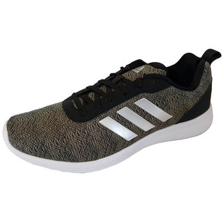 Adidas Mens Black Adiray 1.0 M Running Shoe