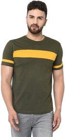 Black Studds Olive Cotton Men's Tshirt.TS-113 NR