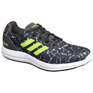 Adidas Mens Black Adi Pacer 5 Running Shoe