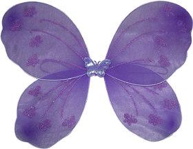 Kaku Fancy Dresses Purple Butterfly Wings -Purple, Free Size, for Girls
