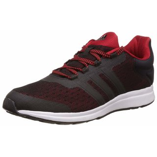 Adidas Mens Black Adiphaser Running Shoe