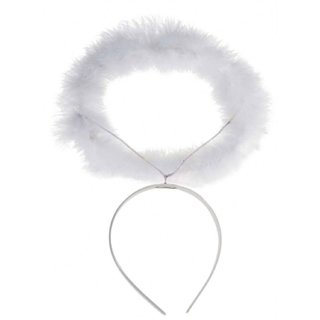 Kaku Fancy Dresses Angel Hairband/Fluffy Hairband/Halo Hairband/Christmas Party Dress Props Xmas Gift for Girls