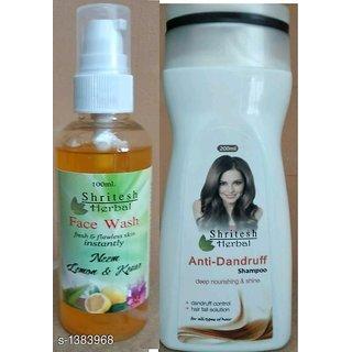 Shritesh Herbal Anti-Dandruff Shampoo