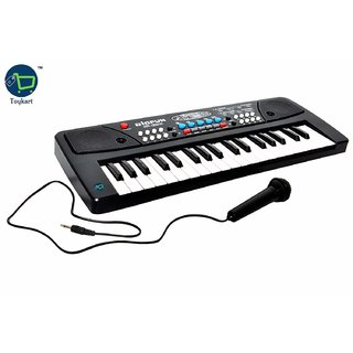37 Key Piano Keyboard Toy with DC Power Option Recording and Mic for Kids - 2018 Latest Model