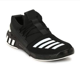 OORA Casual Shoes For Men black Color office Party Wear Men's Laced Running Sports Shoes