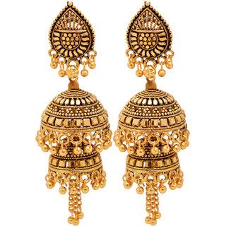 RADHEKRISHNA beautiful jhumki type daily wear earrings