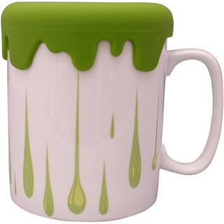 The Craftiers Cofee Mugs Bone chaina Green