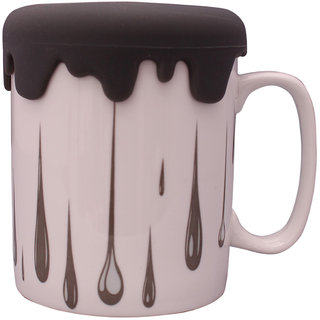 The Craftiers Cofee Mugs Bone chaina Black