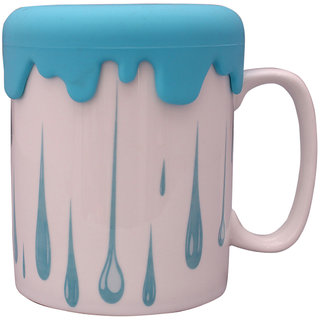 The Craftiers Cofee Mugs Bone chaina Blue