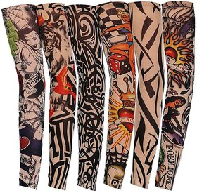 Tattoo Printed Hand Sleeves For Unisex BUY 1 GET 2 FREE