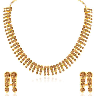 Sukkhi Ritzy LCT Gold Plated Necklace Set for Women