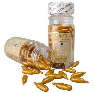 Vitamin E Facial (Golden) 60 Capsules Oil  (60 g)