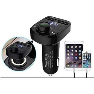 Car X8 Dual USB Bluetooth Car Charger FM Transmitter MP3 Player
