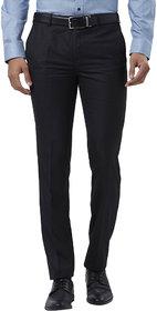 Haoser Slim Fit mens trousers formal black|black trouser for men formal