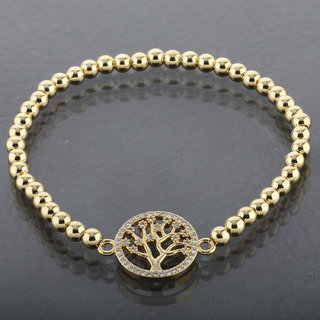 Silver Shine Diamond Tree Pendent The Tree Of Life Bracelet For Girls And Women